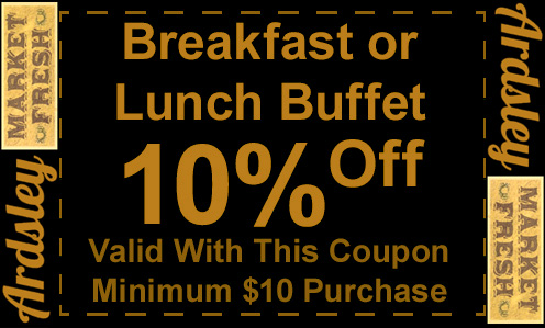 coupon for breakfast and lunch
